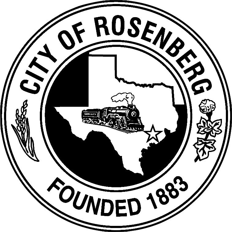 City of Rosenberg Founded 1883