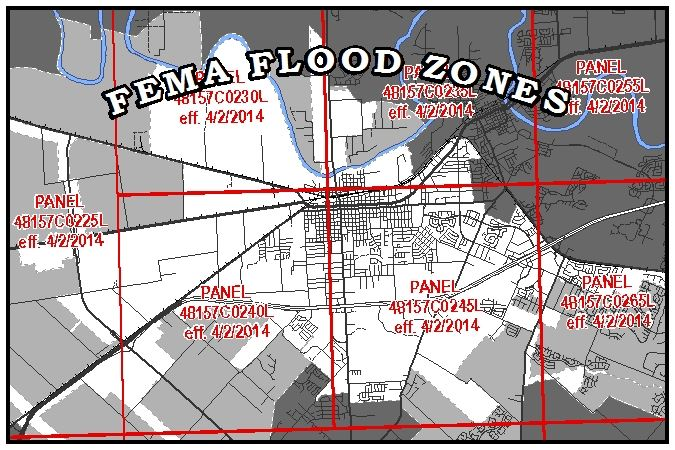 Federal Emergency Management Agency Flood Zones